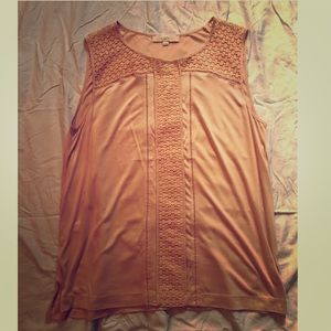 LOFT blush blouse